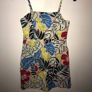 Dresses & Skirts - Forever 21 floral tank dress size small
